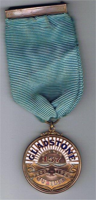 Gladstone Medallion